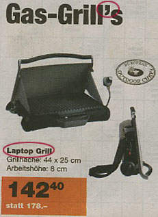 Migros Laptop Grill