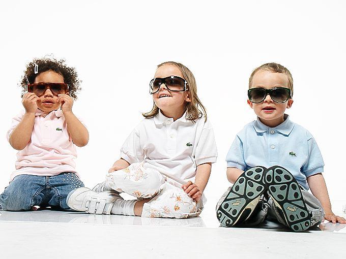 Liah, Mira und Noe als Sonnenbrillen Models